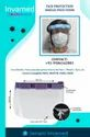 Face Shield - Technical Data Sheet - Face Protection Shield / Face Visor