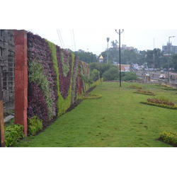 Outdoor Green Wall Installation Service