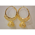 Gold Bali Earrings
