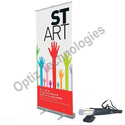 6ft X 3ft Rollup Standee (With normal Flex Banner)