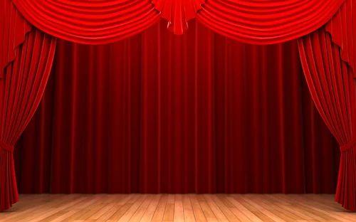 Horizontal Motorized Stage Curtain Rs 25000 Set Sly Enterprises
