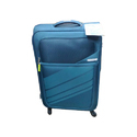 Blue Polyester American Tourister Trolley Bag