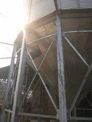 Zincalume Hopper Bottom Grain Storage Silo