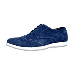 Suede Mens Blue Casual Shoes, Size: 6-10