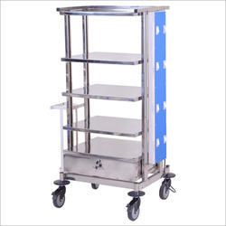 Stainless Steel Laparoscopy Trolley