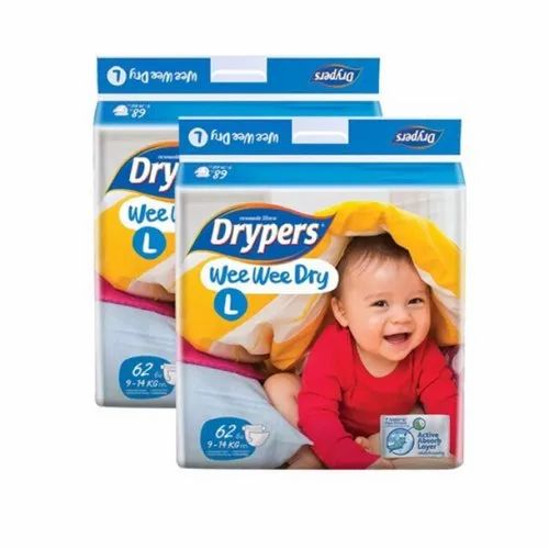 Baby Diapers - Wee Wee Dry NB64 Drypers Wholesaler from Chennai