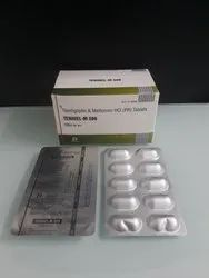 Teneligliptin 20mg and Metformin 500mg Tablets