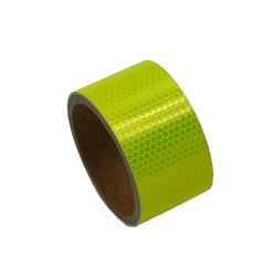 Micro Prismatic PVC Reflective Tapes - Lime Green