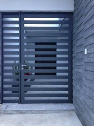 Exterior Mild Steel Powder Coated Grill