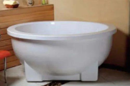 Zeotic Round Freetstanding Bathtub