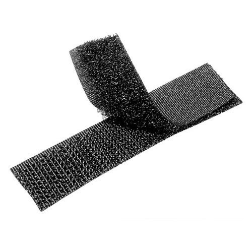 "Black Fabric Belt with Hook and Loop Fasteners 3/"" wide /& various length"