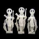 White Marble Ram Darbar Marble Statue