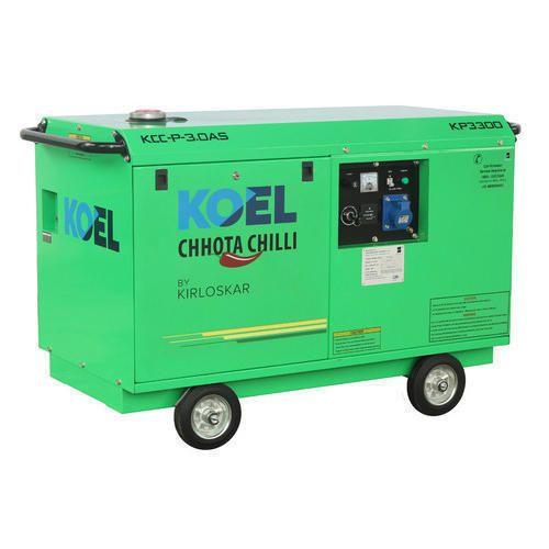 5 KVA Koel Diesel Portable Generator CC1-5AS, Rs 166000 ...