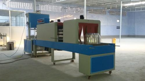 Stainless Steel Mineral Water Bottle Shrink Wrapping Machine