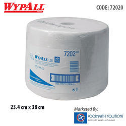 WYPALL L20 Large Roll White Wipers