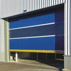 Blue Metal High Speed Shutter Door