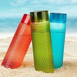 Vvellstick Screw Cap Plastic Water Bottle, Capacity: 1 L