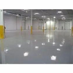 Flooring PU Floor Coating Service, 24 Hours