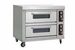 Electric 2 Deck 6 Tray Oven