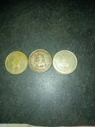 Gold And Silver Gold And Selvar OLD COIN, Mixing