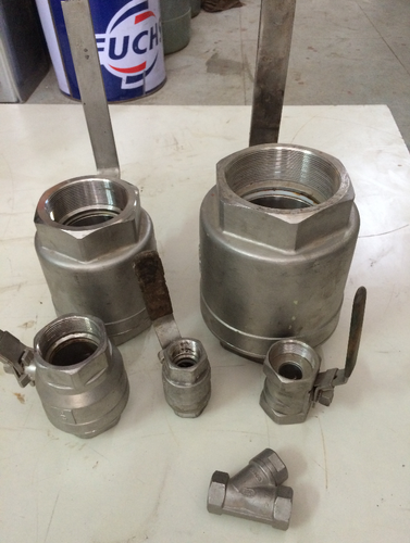 High Pressure Threaded SS Ball Valve