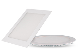 Ganit Aluminium 18 Watt Slim Panel Light Round