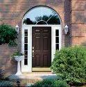 Brown 6 Panel Upvc Door, 4-6 Mm, Exterior