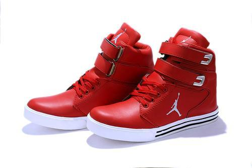 Hush Berry Men's Red Synthetic Leather