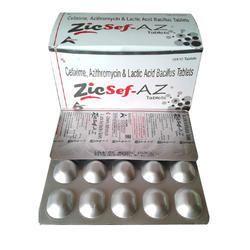Cefixime Azithromycin and Lactic Acid Bacillus Tablet