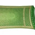 All Over Green Shaded Fancy Design Bandhani Banarasi Georgette Dupatta
