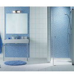 Crystal Bathroom Glass Mosaic Tiles