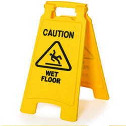 Caution Wet Floor Sign Board