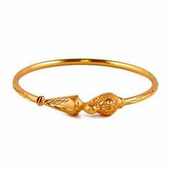 Gold Peacock Kada