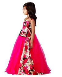 Off-shoulder Gown With Bow