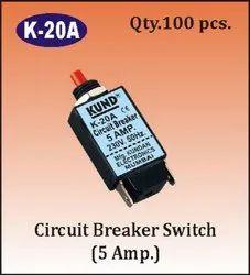 K-20 A Circuit Breaker Switch (5A)