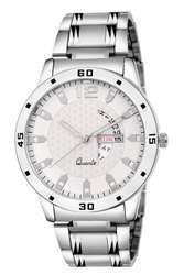 Analog Mens Amaze Round Dial Stainless Steel Watch