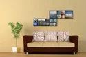 Adorn India Dexter 3 Seater Sofa Digitel Print (Beige & Brown)