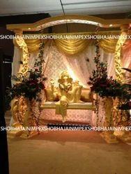 Ganesha Fiber Statue