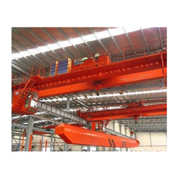Double Girder Bucket Grab Crane