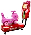 3D Pink Puppy Kiddy Ride