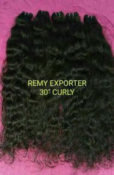 Human Hair Extensions Machine Weft