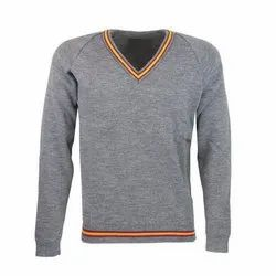 Grey School Sweater