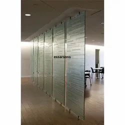 Glossy Hot Fusion Glass, Size: 1830mm X 2440mm