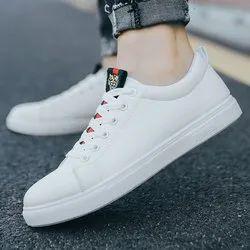 woodland Black White Canvas Shoes, Size