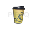 PIRSQ Paper Cup With Lid - 250 ML