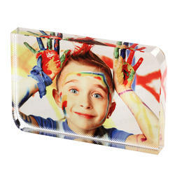 Sublimation Crystal Photo Frame (VBXP - 07)