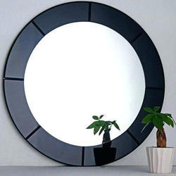 Decorative Glass Mirror, 2 To 12 Mm, Shape: Round