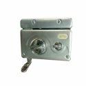 Main Door Godrej Stainless Steel Door Lock, Finish Type: Polished
