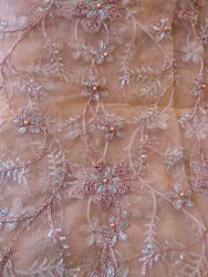 Net Embroidered Sarees