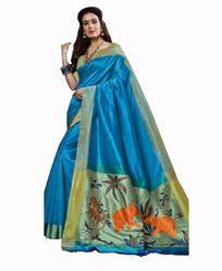 Raw Silk Saree
